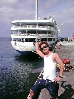 神津島で夏を満喫〓