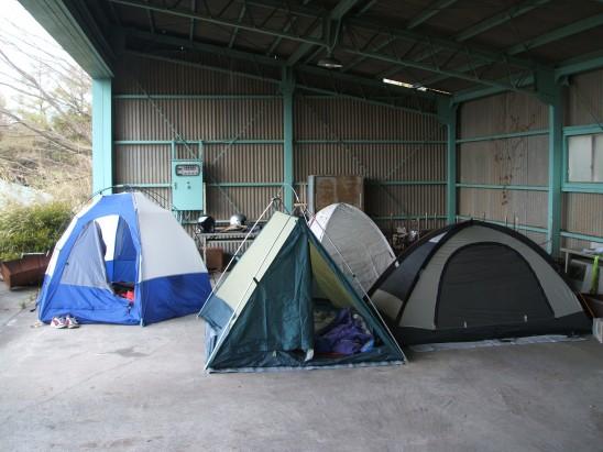 中々、見られない風景ですよ!被災地ではありません!!生活難民です、、、