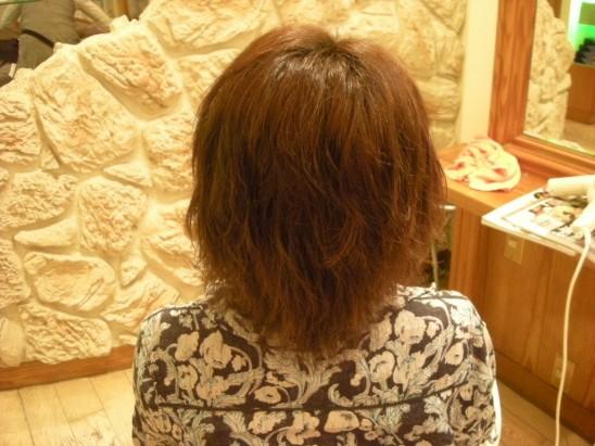 検証のため縮毛矯正毛にパーマ&カラー!