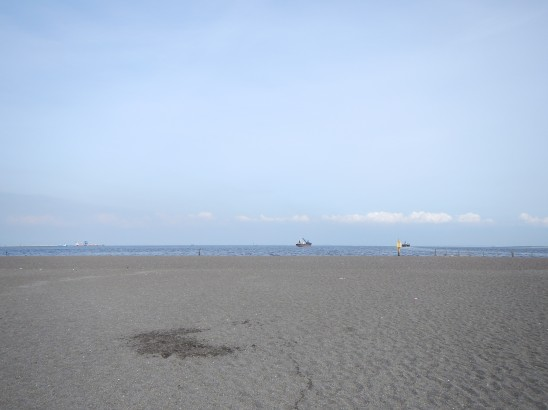 人口の浜ですが、、、