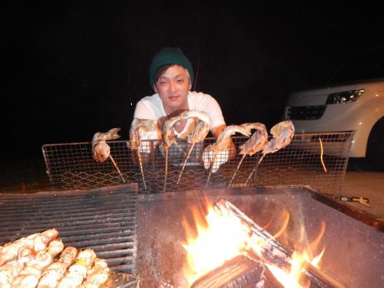 焼き魚は主に山本担当